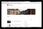 Nyt hjemmesidedesign